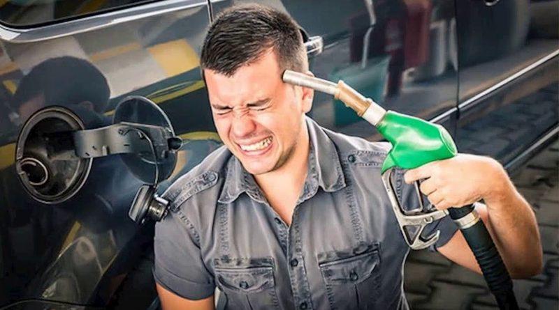 """""""Новогодний подарок"""" от правительства: В Молдове снова дорожает топливо на заправках 1 08.03.2021"""