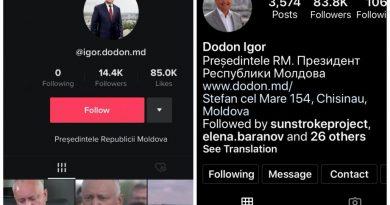 Pe unele rețele de socializare, Igor Dodon, a rămas în continuare Președintele Republicii Moldova