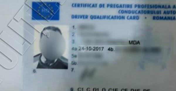 Un bărbat din Bălți s-a prezentat la frontiera de stat cu un permis fals de 300 de dolari