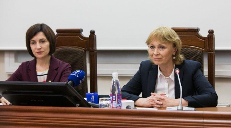 Maia Sandu o apără pe Ala Nemerenco în scandalul diplomei de master