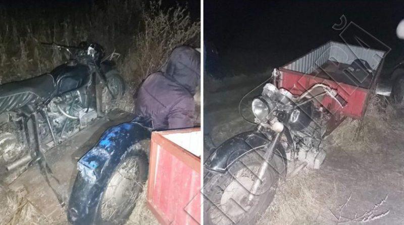 Trei bărbați din raionul Briceni au fost reținuți în stare de ebrietate la volanul motocicletelor și fără acte de identitate în zona de frontieră Lipcani