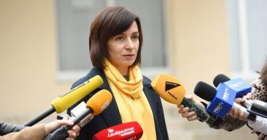 Майя Санду: «Демонтаж ограды президентского дворца больше не является приоритетом» 4 12.05.2021