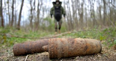 În anul 2020, peste 2.500 de obiecte explozive au fost lichidate de geniştii militari