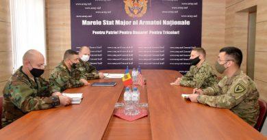 Командующий национальной армией обсудил молдавско-американское сотрудничество в области обороны с военным атташе США