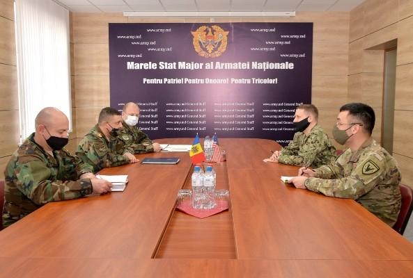 Командующий национальной армией обсудил молдавско-американское сотрудничество в области обороны с военным атташе США 1