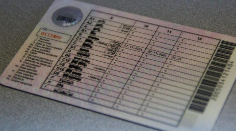 Un bărbat din raionul Soroca riscă până la doi ani de închisoare pentru folosirea unui permis de conducere fals