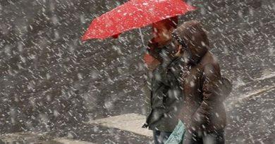 Atenție! Republica Moldova se află sub Cod Galben și Portocaliu de lapoviță și ninsoare