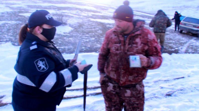 Vânătorii din raionul Fălești monitorizați de oamenii legii