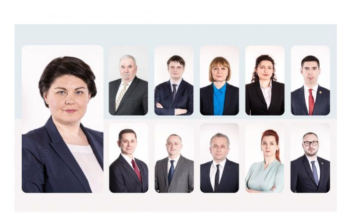Foto Программа работы и список правительства, предложенные Натальей Гаврилицей, переданы в парламент 1 25.07.2021