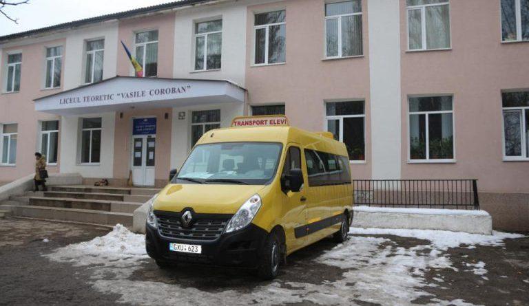 /FOTO/ Un liceu din orașul Glodeni a fost modernizat prin intermediul unui program guvernamental