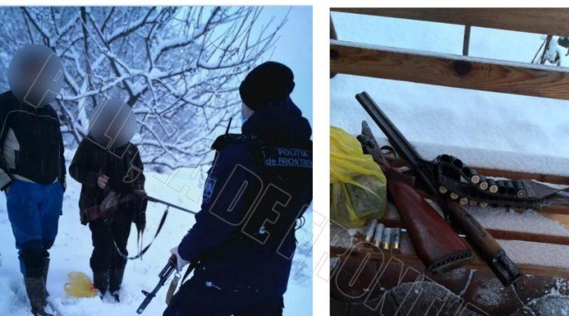 /VIDEO/ Doi bărbați din raionul Soroca au pornit la vânătoare în zona de frontieră. Acum vor risca amenzi