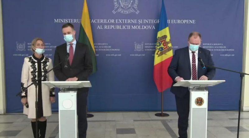 Lituania va dona Republicii Moldova un lot de vaccin împotriva COVID-19