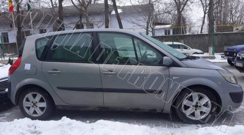 Autoturism radiat din circulație în Polonia, identificat în raionul Soroca