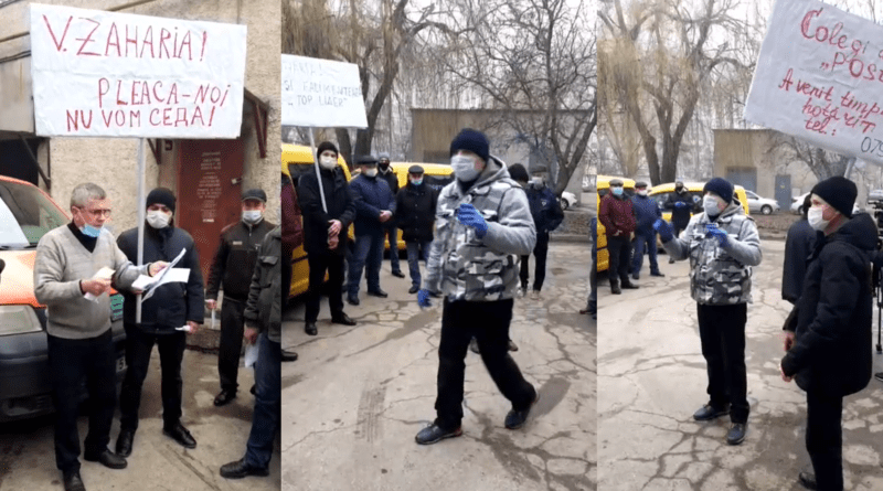 """/VIDEO/ Angajații întreprinderii """"Poșta Moldovei"""" din Bălți au ieșit la protest"""