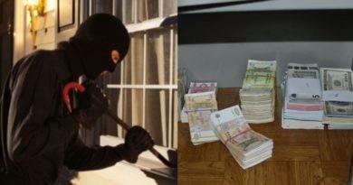 Furt bancar în raionul Florești. Hoții au sustras safeul cu bani