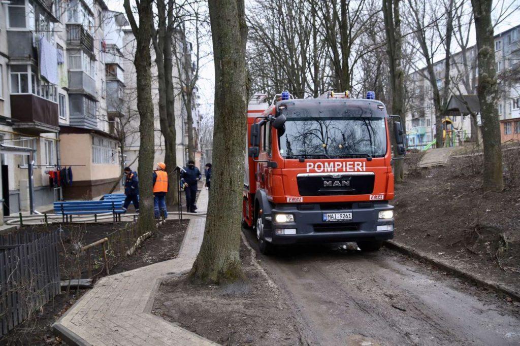 /FOTO/ Incendiu la Bălți. O femeie și-a pierdut viața 1 14.04.2021