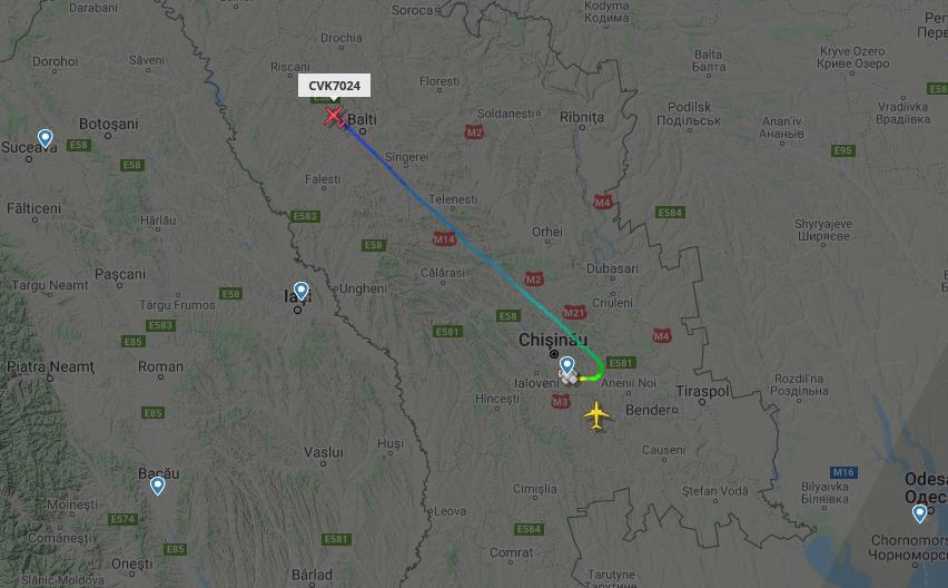 В Молдове происходят ночные «шпионские игры» с участием грузовых транспортных самолетов «Antonov»? 2 18.04.2021