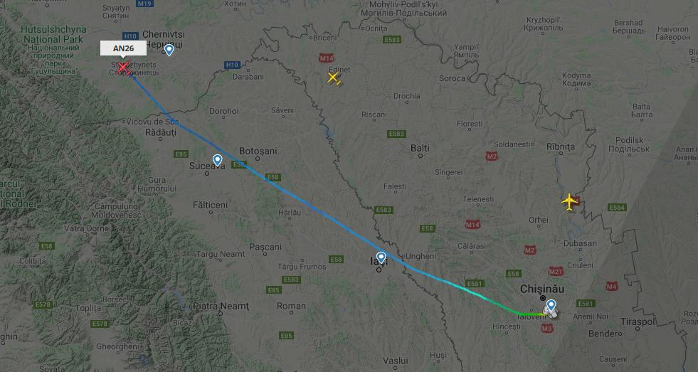 В Молдове происходят ночные «шпионские игры» с участием грузовых транспортных самолетов «Antonov»? 3 18.04.2021
