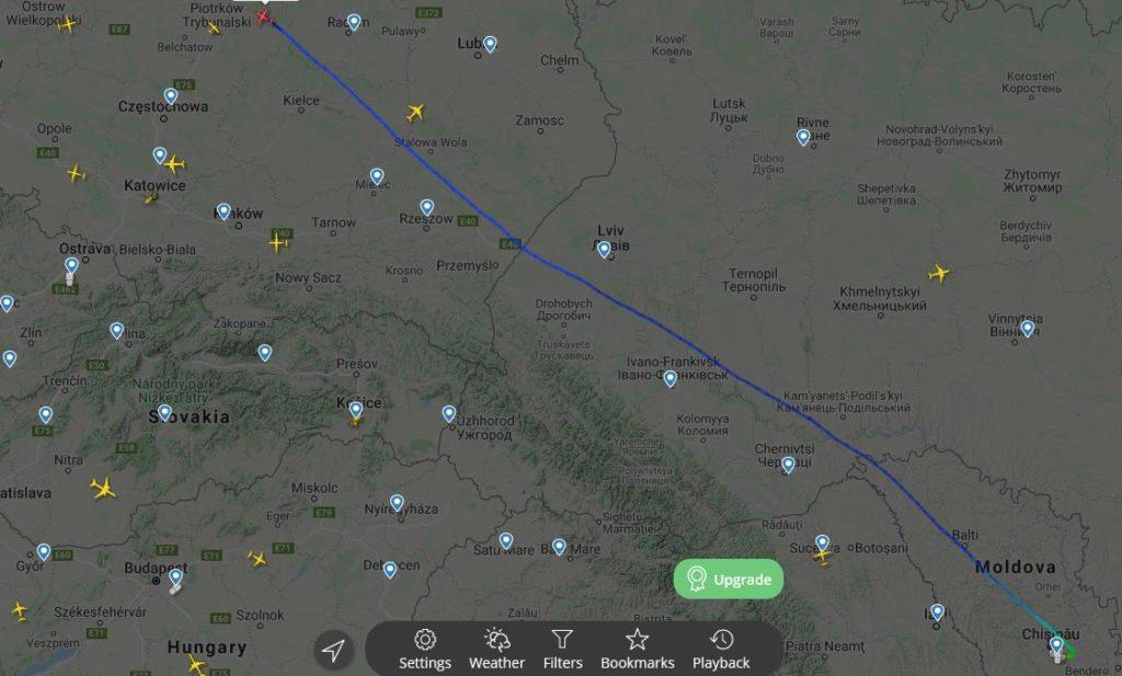 В Молдове происходят ночные «шпионские игры» с участием грузовых транспортных самолетов «Antonov»? 6 18.04.2021