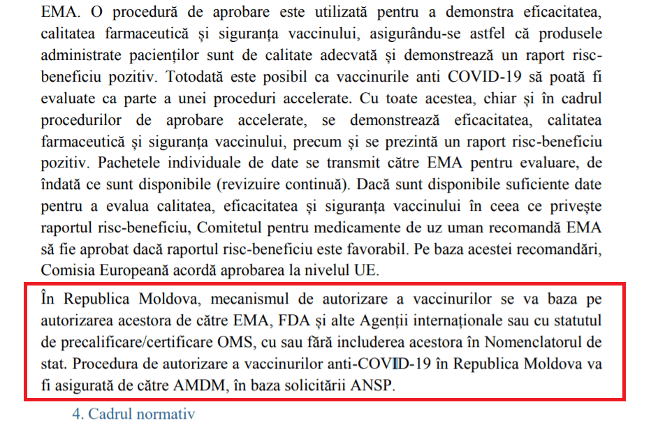 Foto În lipsă de transparență, vaccinul Sputnik-V a fost autorizat condiționat în Republica Moldova 3 01.08.2021