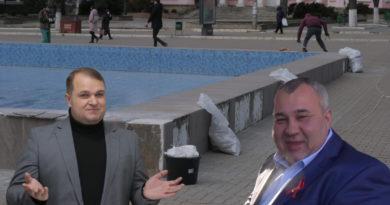 Foto Бельцкая полиция не получила заявление от бельцкой примарии по «вандализму» у городского фонтана 4 01.08.2021