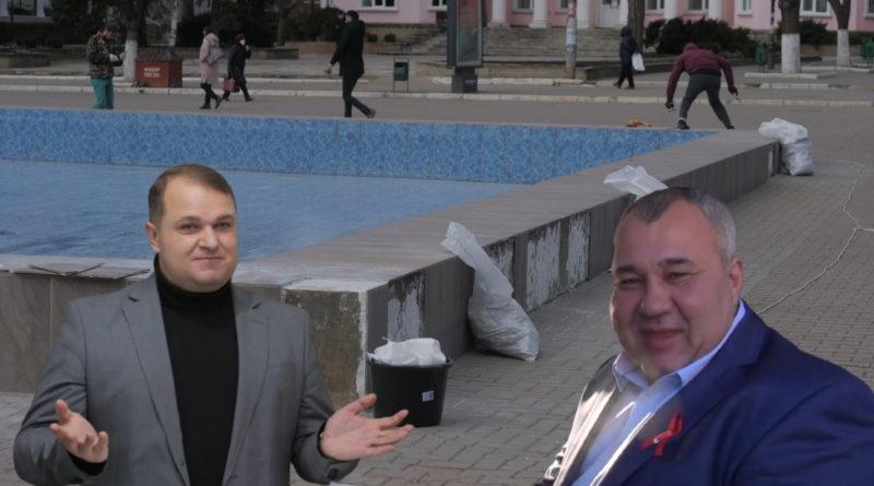 Бельцкая полиция не получила заявление от бельцкой примарии по «вандализму» у городского фонтана 13 17.04.2021