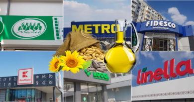 Foto От 26 леев и выше - обзор цен на подсолнечное масло в бельцких торговых сетях 2 14.06.2021