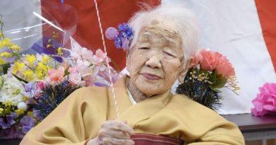 Foto В Японии старейшая жительница планеты повезет олимпийский огонь на инвалидной коляске 3 25.07.2021