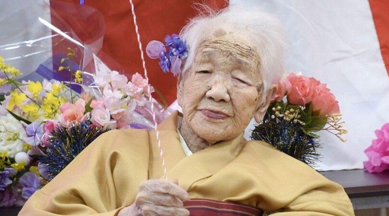 Foto В Японии старейшая жительница планеты повезет олимпийский огонь на инвалидной коляске 1 29.07.2021