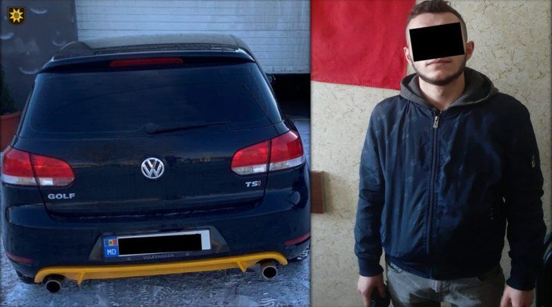 Un tânăr din raionul Fălești a furat un automobil pentru a se plimba și a nimerit cu unitatea de transport în accident