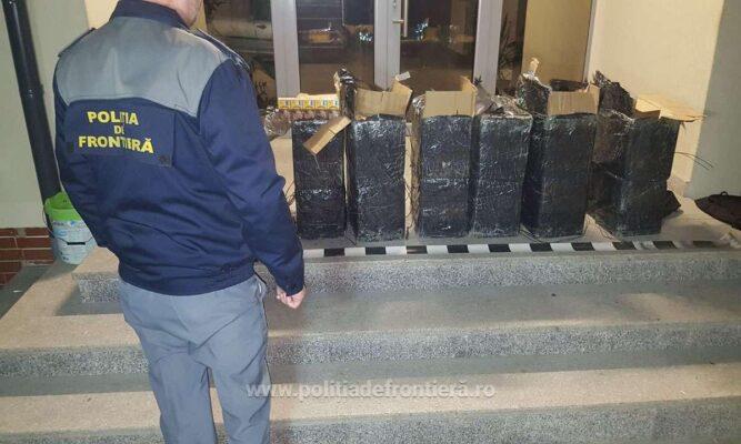 Таможенная полиция Румынии обнаружила крупную партию контрабандных сигарет из Украины 1 14.04.2021