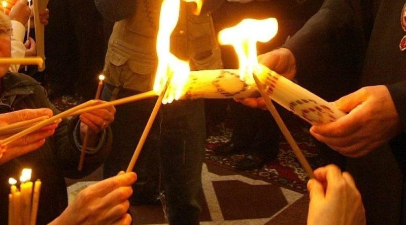 Focul Haric va fi adus în Republica Moldova de Sâmbăta Mare și va ajunge în fiecare parohie