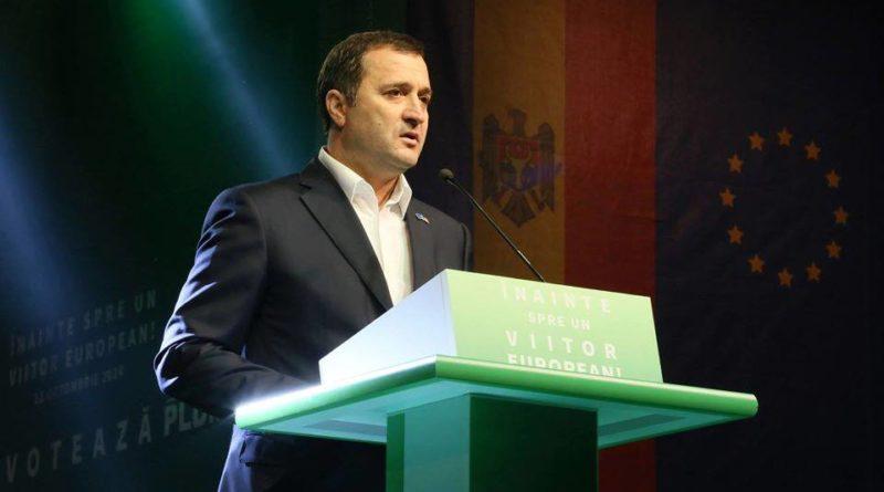 Vlad Filat s-a retras de la șefia Partidului Liberal Democrat din Moldova