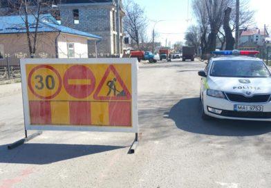 Улица Киевская остаётся закрытой для движения транспорта до 19 апреля
