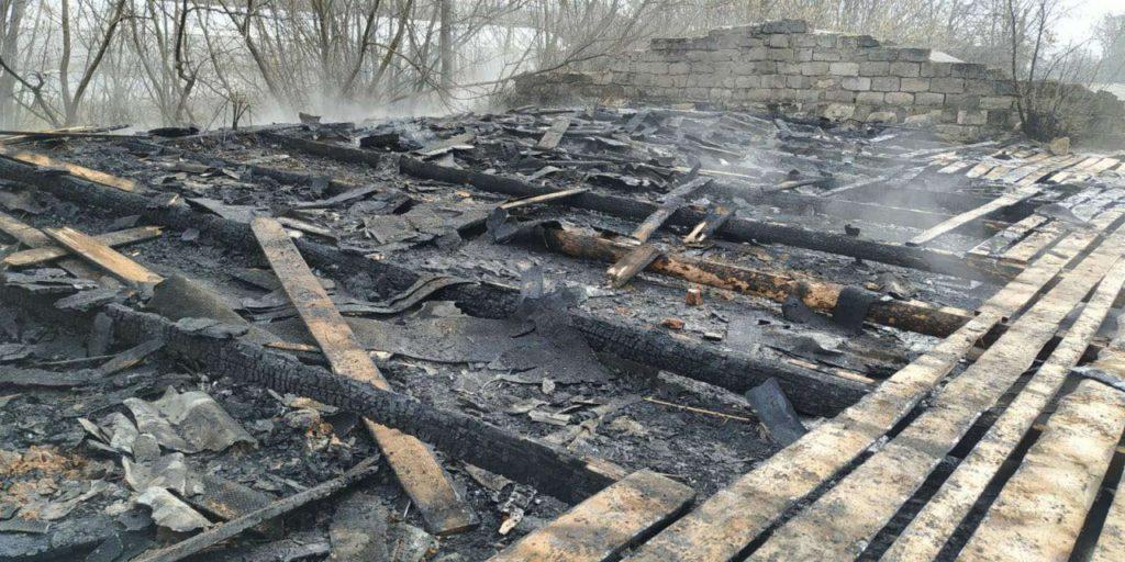 /FOTO/ Incendiu la un combinat de panificație din orașul Sângerei 1 11.05.2021