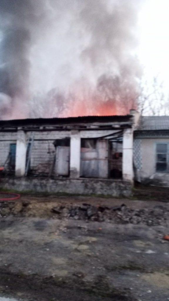 /FOTO/ Incendiu la un combinat de panificație din orașul Sângerei 2 11.05.2021