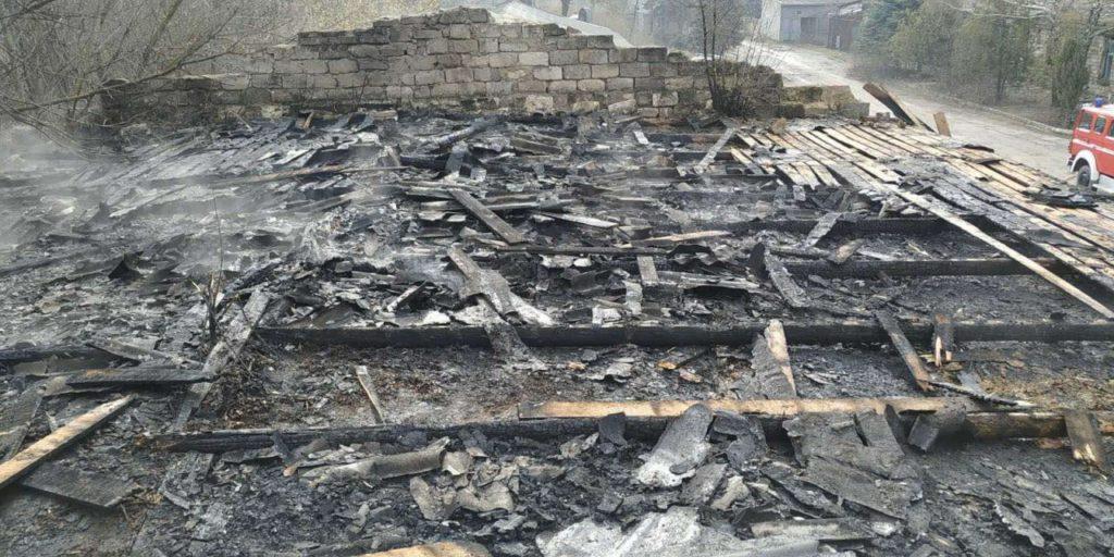 /FOTO/ Incendiu la un combinat de panificație din orașul Sângerei 3 11.05.2021