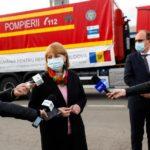 Еще одну партию вакцины против COVID-19 доставили из Румынии в Молдову 7 18.04.2021