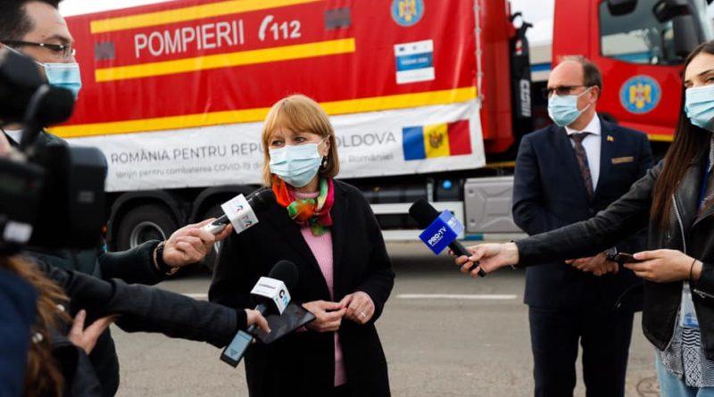 Еще одну партию вакцины против COVID-19 доставили из Румынии в Молдову 1 11.05.2021