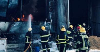 IGSU a anunțat primele versiuni în cazul incendiului de la depozitul de vopsea din Chișinău