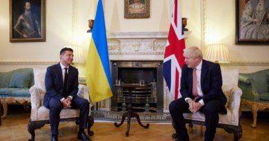 Foto Президент Украины Владимир Зеленский призвал Великобританию усилить санкции против Российской Федерации 2 25.07.2021