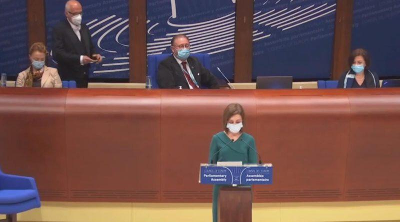 Главные темы выступления президента Майи Санду в Парламентской ассамблеи совета Европы 45 14.05.2021