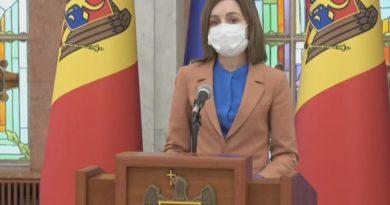 Foto Президент Молдовы Майя Санду объявила о роспуске Парламента и назначила дату выборов 4 25.07.2021