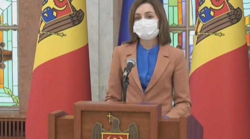 Foto Президент Молдовы Майя Санду объявила о роспуске Парламента и назначила дату выборов 1 20.09.2021