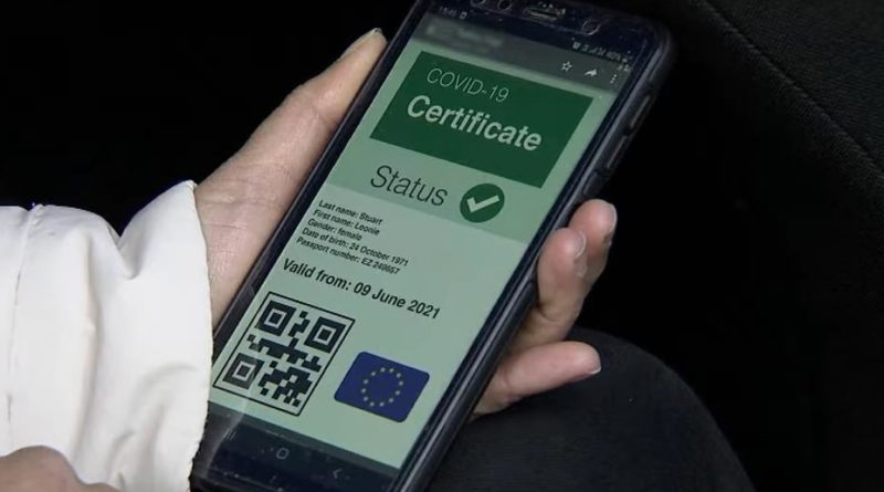 В Евросоюзе создаётся проездной документ для граждан, не заражённых короноварусом 29 12.05.2021