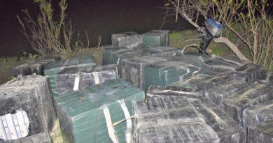 Contrabandă cu țigări în valoare de jumătate de milion de lei descoperită în raionul Briceni