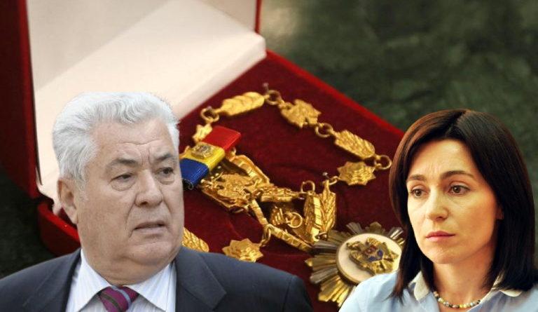 Владимир Воронин: Я не принял Орден Республики от Додона, не приму его и от Майи Санду 23 17.04.2021