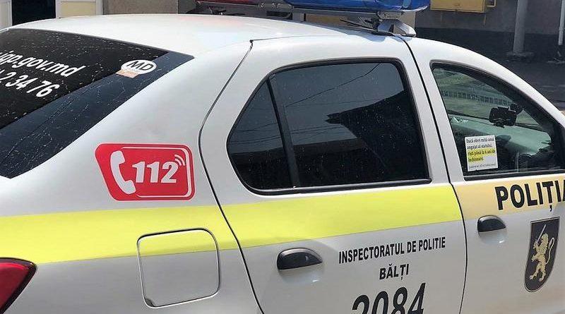Timp de o săptămână, polițiștii din Bălți au intervenit la 216 chemări și au reținut trei persoane aflate în căutare
