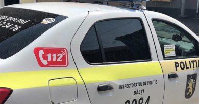 Timp de o săptămână, polițiștii din Bălți au intervenit la 276 chemări și au reținut 15 persoane aflate în căutare