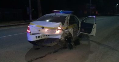 Foto В Бэлць произошло ДТП, в результате которого пострадали четверо полицейских 5 24.07.2021